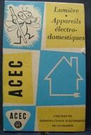 Pu. 68. Petit Carnet De Notes Avec Publicité Des ACEC à Charleroi. - Publicités