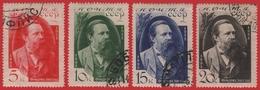 Russia / Sowjetunion 1935 - Mi-Nr. 523-526 Gest / Used - 1923-1991 URSS
