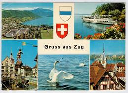 GRUSS  AUS  ZUG                 (VIAGGIATA) - ZG Zoug
