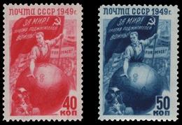 Russia / Sowjetunion 1949 - Mi-Nr. 1430-1431 ** - MNH - Frieden / Peace - 1923-1991 UdSSR