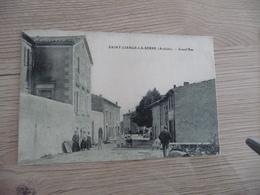 CPA 07 Ardèche Saint Cierge La Serre Grand'Rue  TBE - Francia