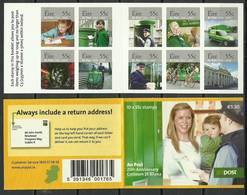 Ireland 2009 Mi Mh 1866-1875 MNH ( ZE3 IRLmh1866-1875dav142B ) - Jobs