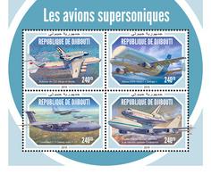 Djibouti. 2018 Supersonic Aircraft. (606a) - Avions