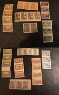 Azerbaïdjan - Timbres Anciens (1919/22) En Bandes De 3 Ou 4 - Non Dentelés - Neufs ** En Majorité - Collections (sans Albums)