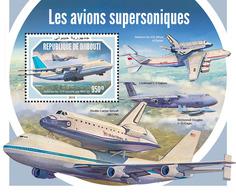 Djibouti. 2018 Supersonic Aircraft. (606b) - Avions