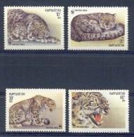 Mua163s WWF WILDE KAT SNEEUWLUIPAARD CAT SNOWLEOPARD KYRGYZSTAN 1994 PF/MNH # - Verzamelingen & Reeksen