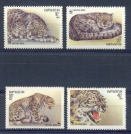 Mua163s WWF WILDE KAT SNEEUWLUIPAARD CAT SNOWLEOPARD KYRGYZSTAN 1994 PF/MNH # - W.W.F.
