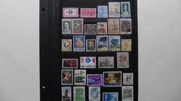 ITALIE   :31 Timbres Oblitérés - Collections