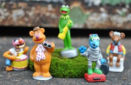 Rare Lot De Petites Figurines Muppet Show - Figurines