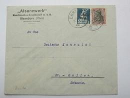 1920 , ALSENBORN   , Firmenbrief - Germany