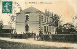 INDRE  CLION  école D'agriculture - France