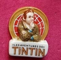 Fèves Fève 2012 Les Aventures De Tintin Le Logo - Cartoons