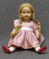 Giocattoli - Bambole Antiche - Bambola D'epoca In Celluloide - Anni '50. - Andere Verzamelingen