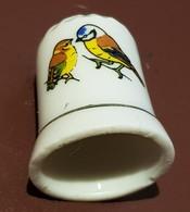 Dés à Coudre : Oiseaux. (Voir Commentaires) - Ditali Da Cucito