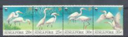Mzi153s WWF VOGELS BIRDS REIGER HERON EGRET VÖGEL AVES OISEAUX SINGAPORE 1993 ONG/MH - W.W.F.