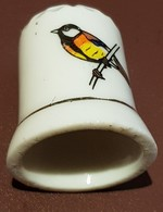 Dés à Coudre : Oiseau. (Voir Commentaires) - Dés à Coudre