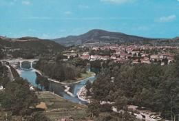 Carte Vers 1965 RETOURNAC / VUE GENERALE AERIENNE - Retournac