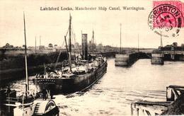 ROYAUME UNI - ANGLETERRE - LATCHFORD LOCKS MANCHESTER SHIP CANAL WARRINGTON - Unclassified