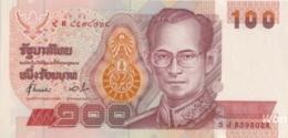 Thailand 100 Baht (P97) Sign 72 -UNC- - Thaïlande