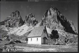 DOLOMITI - PASSO SELLA - SASSOLUNGO - FORMATO PICCOLO - FOTOEDIZ. GHEDINA - VIAGGIATA 1959 - Alpinisme