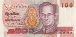 Thailand 100 Baht (P97) Sign 75 -UNC- - Thaïlande