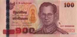 Thailand 100 Baht (P114) Sign 84 -UNC- - Thaïlande