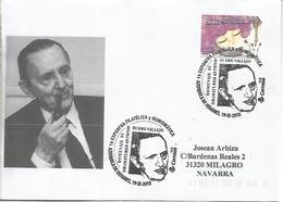 AZUQUECA DE HENARES  GUADALAJARA CC CON MAT BUERO VALLEJO LITERATURA TEATRO - Escritores