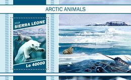 Sierra Leone. 2018 Arctic Animals. (1109b) - Timbres
