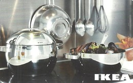 IKEA * FURNITURE STORE * SWEDEN * SWEDISH * KITCHEN * POT * Ikea 2007 06 Fr E3 * France - Cartes Cadeaux