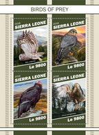 Sierra Leone. 2018 Birds Of Prey. (1102a) - Aigles & Rapaces Diurnes
