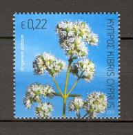 Cyprus 2013 Aromatic Flowers, Oregano (Oreganum Dubium) MNH - Végétaux
