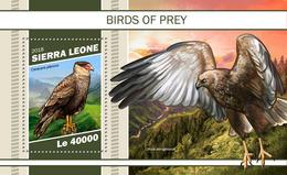 Sierra Leone. 2018 Birds Of Prey. (1102b) - Aigles & Rapaces Diurnes