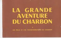Livre Scolaire Lecons De Choses La Grande Aventure Du Charbon Vers 1950 - Books, Magazines, Comics
