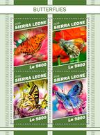 Sierra Leone. 2018 Butterflies. (1103a) - Papillons