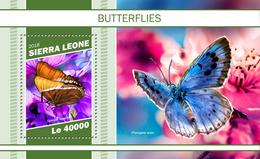 Sierra Leone. 2018 Butterflies. (1103b) - Papillons