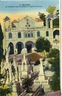 Liban Lebanon  Beyrouth Le Cimetière Grec Orthodoxe Et L'église St Dimitri  édition Ouzounian Et Kehyayan - Liban