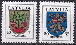 LETTLAND 1997 Mi-Nr. 463/64 ** MNH - Latvia