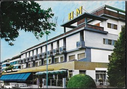 HOTEL MEDITERRANEO - MARINA DI CARRARA - VIAGGIATA 1972 - Hotels & Restaurants