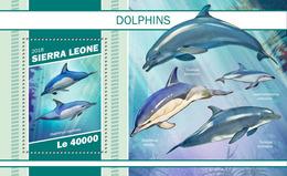 Sierra Leone. 2018 Dolphins. (1105b) - Dauphins