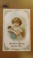 Chromo Amidon Remy Fillette Poupée - Autres