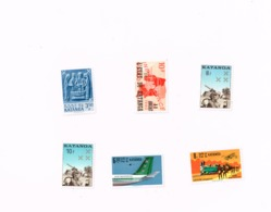 Lot De  6 Timbres MNH,Neuf Sans Charnière,Falzlos.Yvert 48,57,76,77,80,81 - Katanga