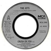 """The Jets   """"  Crush On You  """" - Vinyl Records"""