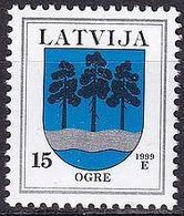 LETTLAND 1999 Mi-Nr. 495 I ** MNH - Lettonie