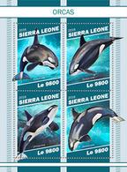 Sierra Leone. 2018 Orcas. (1106a) - Dauphins