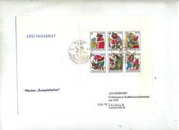 Lettre Fdc 1976 Berlin Conte  Grimm - FDC: Enveloppes