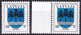 LETTLAND 1999 Mi-Nr. 495 I+II ** MNH - Latvia
