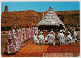 MAROC  PITTORESQUE    FESTIVAL  NATIONAL  DE  FOLKLORE                   (VIAGGIATA) - Marocco