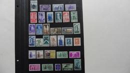ITALIE   :33 Timbres Oblitérés - Collections