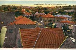 Liban Lebanon  Beyrouth Vue Prise De L'Université Américaine   édition Ouzounian Et Kehyayan - Liban