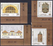 LETTLAND 2000 Mi-Nr. 523/26 ** MNH - Lettonie
